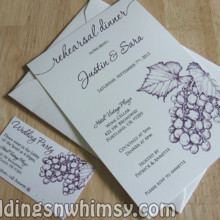 Weddings N 39 Whimsy Invitations Rochester Ny Weddingwire