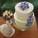 130x130 sq 1243554838312 purpleorchidcake2