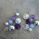 130x130 sq 1244967653693 purpleclusterearrings