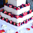 130x130 sq 1376751761643 wedding cake with fresh fruit