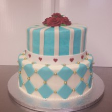 220x220 sq 1462999703191 alice in wonderland stack cake