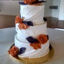 130x130 sq 1463094848310 wedding burnt orange purple calla drape wedding