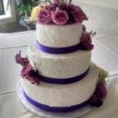 130x130 sq 1463095348470 fresh flowers purple ribbon wedding