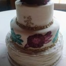 130x130 sq 1463095792086 wedding fondant painted bc ruffle wedding