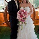 Our beautiful bride Olivia and Tim on the MS MT Washington ship!