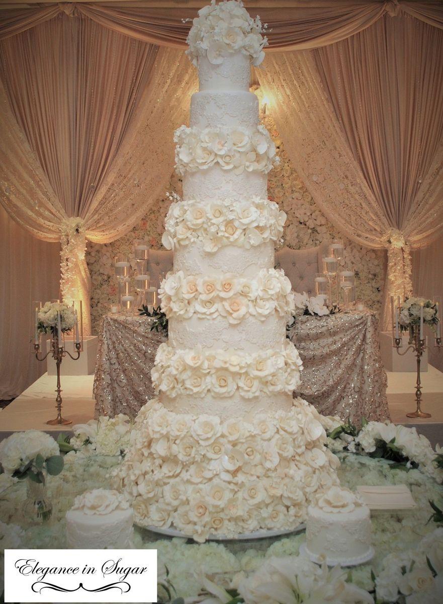 Elegance In Sugar Wedding Cake Sterling Heights Mi