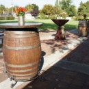 130x130 sq 1370284582991 wine barrel cocktail tables