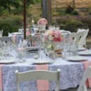 130x130 sq 1370285550249 lace and pink table setting