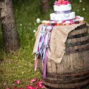 130x130 sq 1351447022577 winebarrelweddingcakeribbonlaurenbrooksphotography