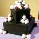 130x130 sq 1482278173756 black cake with white berries edited