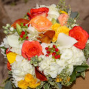 130x130 sq 1449362816926 yellow and orange bridal bouquet