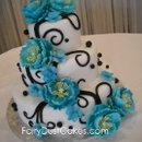 130x130 sq 1280460809960 bluepeonyweddingcake1123
