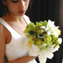 130x130 sq 1264481255148 greenandwhitebouquet