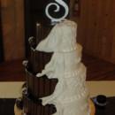 130x130 sq 1378194664627 brown ivory wedding cake amber springs