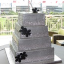 130x130 sq 1415607098433 silver black cake one park place square