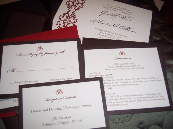 1257812736973 Ebayitems005 Miami wedding invitation