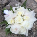 130x130 sq 1414213565047 white rose white cymbidium bouquet