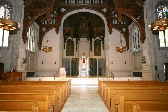 Provincial House Chapel At The University Of Missouri St