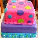 130x130 sq 1295997515488 purplepinkmultidots