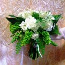 130x130 sq 1335828627346 greenwhitenaturalgardenstylebouquet