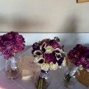 130x130 sq 1340573978580 purplebouquets