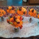 130x130 sq 1455374733526 fall autumn orange bouquets
