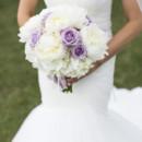 130x130 sq 1455375998690 white hydrangea lavender rose white peony bouquet