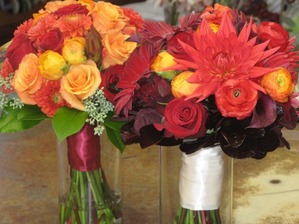 photo 23 of Jewel Tones Flowers