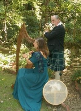 photo 1 of Sneddon & Sneddon, Harp and Flute