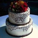 130x130 sq 1286837546355 chocolatepipingcake