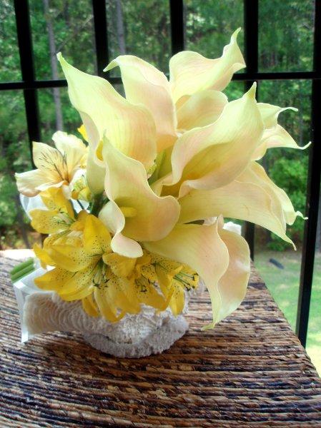 1244006375534 YellowCallaLilies098 Savannah Wedding Florist