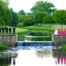 130x130 sq 1416605672844 bridal party by waterfall