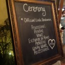 130x130 sq 1416606784647 ceremony chalkboard sign