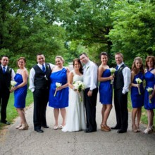 220x220 sq 1416603054601 bridal party on path