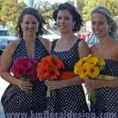130x130 sq 1270956226045 colorfulbouquetswithpolkadotdresses