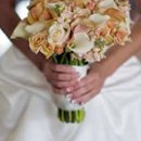130x130 sq 1270956231717 peachandwhitebridalbouquet