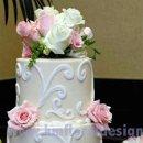 130x130 sq 1270956239451 pinkandwhitecakeflowers