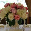 130x130 sq 1270956247030 whiteandpinkweddingcenterpiece