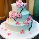 130x130 sq 1419786117107 cherry blossom cake