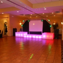220x220 sq 1376758007565 mitzvah dance floor and dj set up