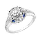 130x130 sq 1384710039382 white 14k diamond sapphire ashle