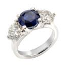 130x130 sq 1398920976193 marina 3 stone sapphire diamond platinu