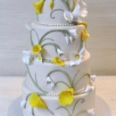 130x130 sq 1376048697426 ivory wedding cake calla lily the cake zone florida
