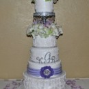 130x130 sq 1376048700832 lace and crystals 5 tier wedding cake the cake zone avila florida1