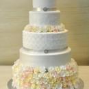 130x130 sq 1402681960078 ruffleslacequilt weddingcake thecakezone thehilton