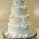 130x130 sq 1402681983777 sugarlacefondantrose petals weddingcake thecakezon