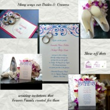220x220 sq 1427582334327 samantha  michael wedding invitation collage