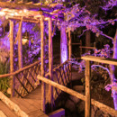130x130 sq 1419142713125 lake arrowhead wedding uplighting dj 031