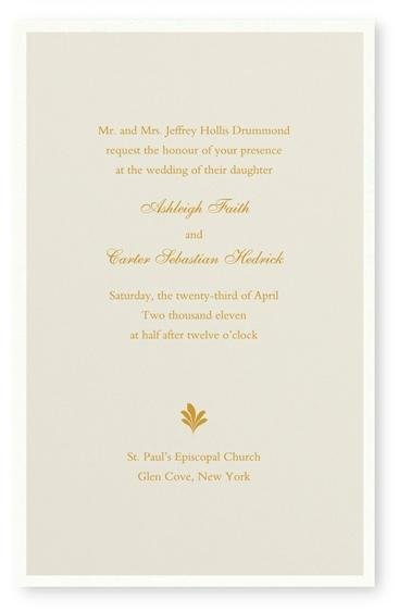 photo 10 of Maureen H. Hall Stationery and Invitations