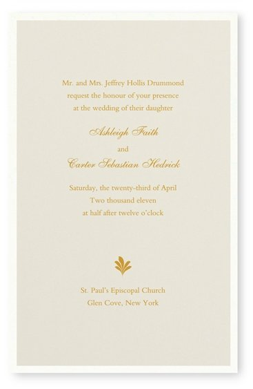photo 18 of Maureen H. Hall Stationery and Invitations
